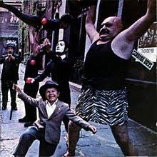DOORS THE-STRANGE DAYS LP VG+ COVER EX