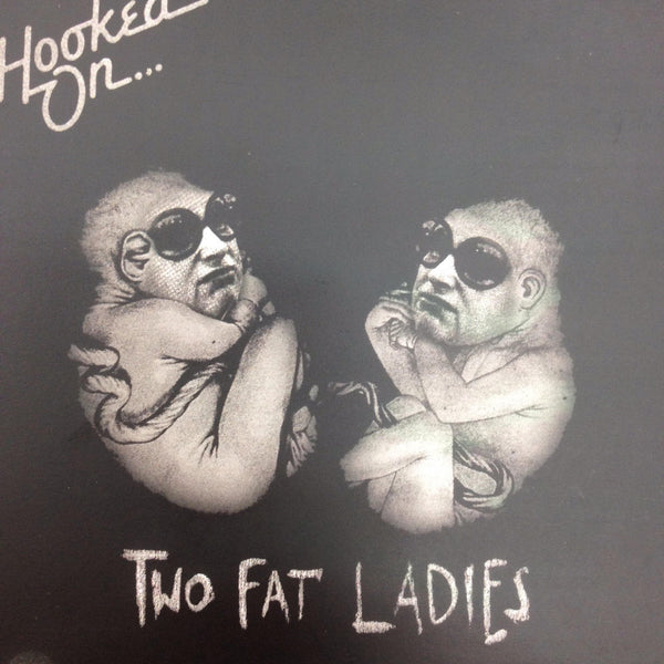 TWO FAT LADIES-HOOKED ON...TWO FAT LADIES CD VG