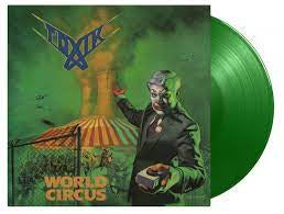 TOXIK-WORLD CIRCUS GREEN VINYL LP *NEW*