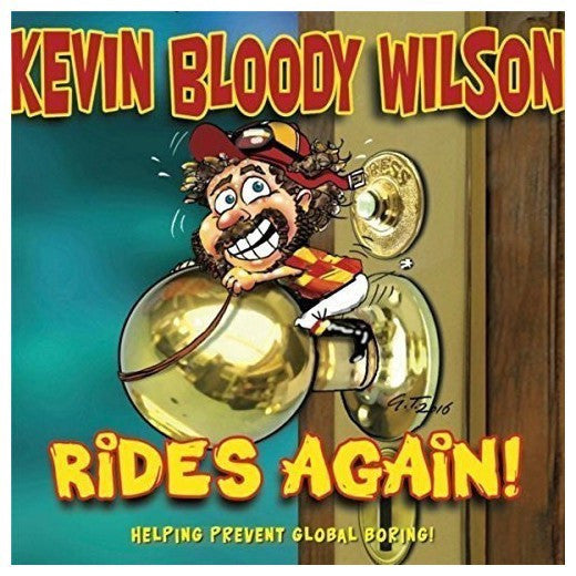 WILSON KEVIN BLOODY-RIDES AGAIN CD VG