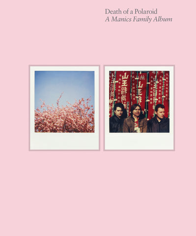 A MANICS FAMILY ALBUM: DEATH OF A POLAROID BOOK *NEW*