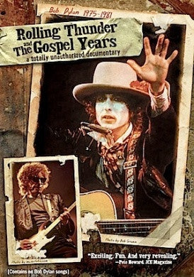 DYLAN BOB-ROLLING THUNDER AND THE GOSPEL YEARS DVD VG