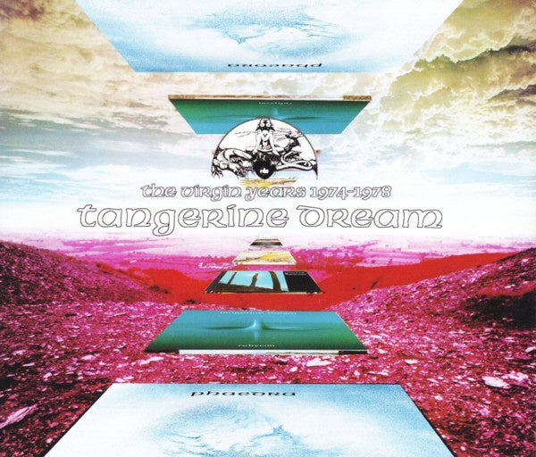 TANGERINE DREAM-THE VIRGIN YEARS 1974-1978 3CD VG+