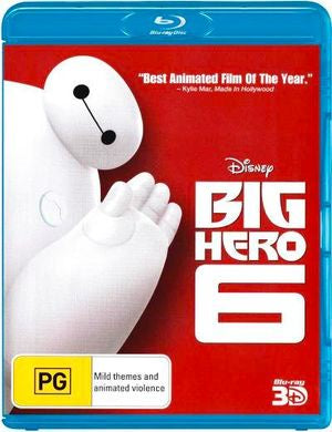 BIG HERO 6 BLURAY VG+