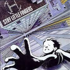 STIFF LITTLE FINGERS-GO FOR IT LP VG COVER VG