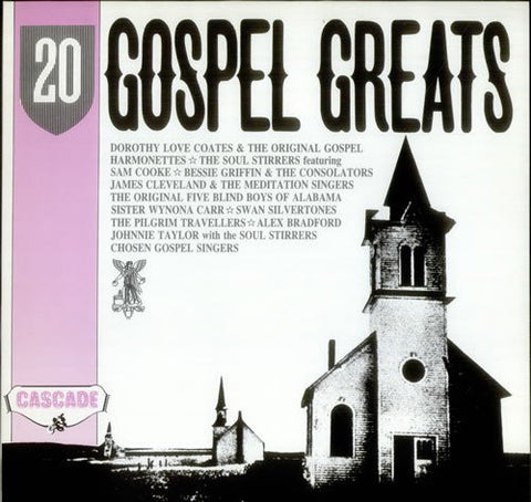20 GOSPEL GREATS-VARIOUS ARTISTS CD VG