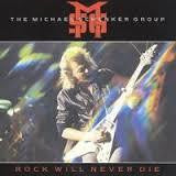 SCHENKER MICHAEL-ROCK WILL NEVER DIE LIVE! LP VG+ COVER VG