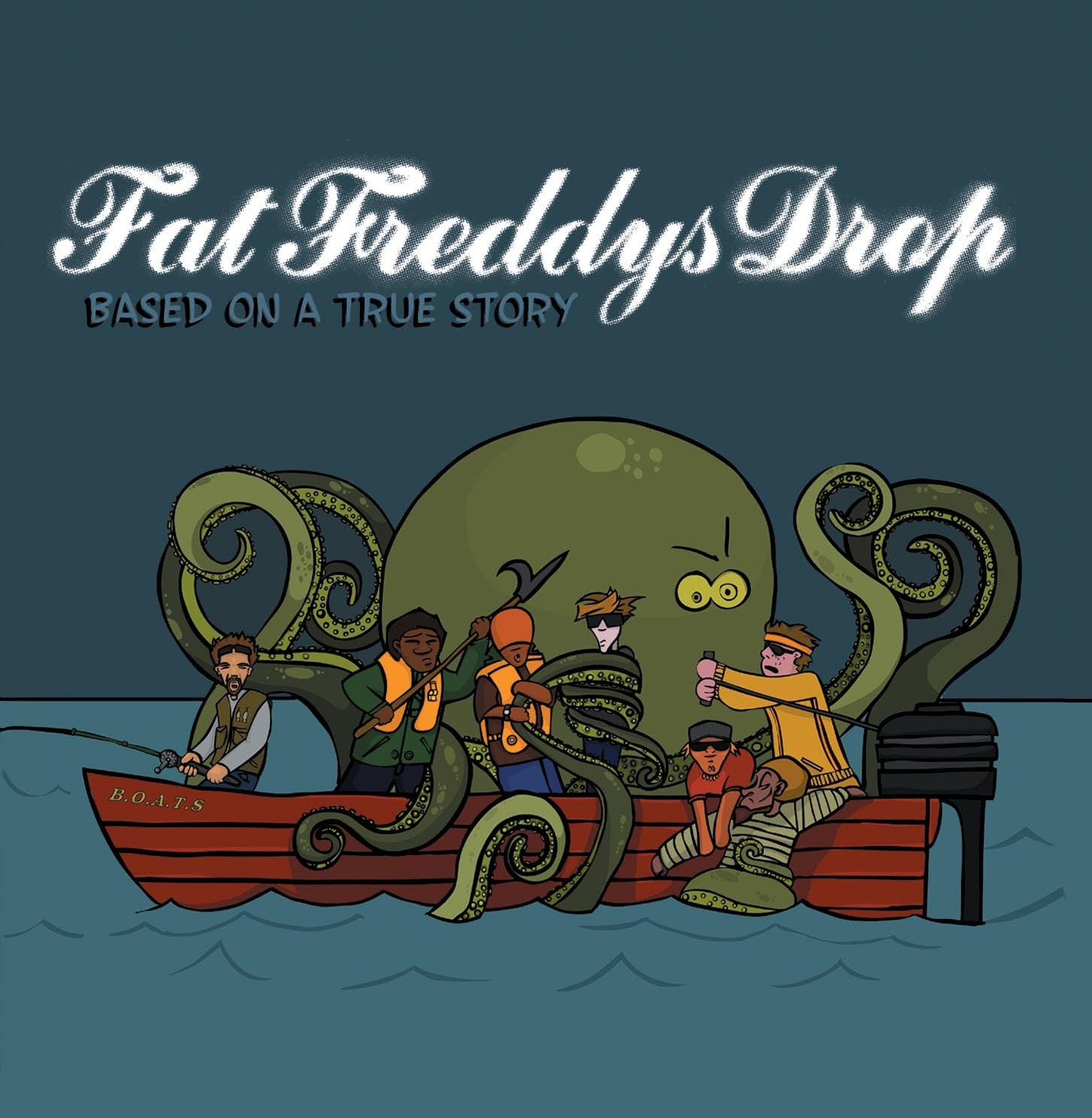 FAT FREDDY'S DROP-BASED ON A TRUE STORY 2LP *NEW*