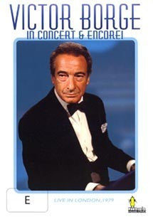 BORGE VICTOR-IN CONCERT AND ENCORE DVD VG