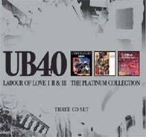 UB40-LABOUR OF LOVE COLLECTION 3CD VG