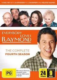 EVERYBODY LOVES RAYMOND FOURTH SEASON REGION 4 DVD M