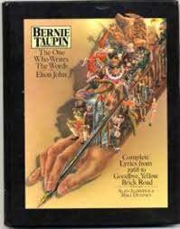 BERNIE TAUPIN-THE ONE WHO WRITES THE WORDS FOR ELTON JOHN BOOK VG