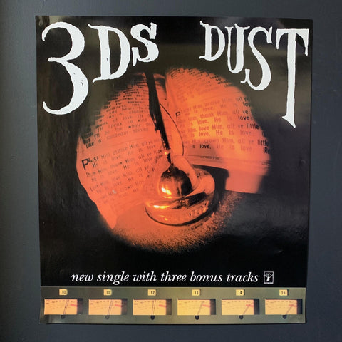 3DS DUST ORIGINAL PROMO POSTER