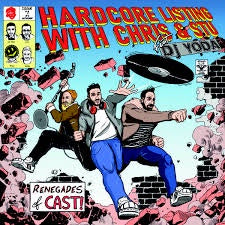 PODCAST ON VINYL-HARDCORE LISTENING WITH CHRIS & STU FEAT DJ YODA CLEAR VINYL LP *NEW*
