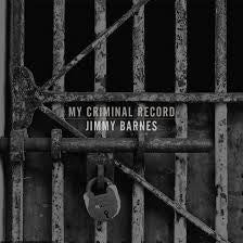 BARNES JIMMY-MY CRIMINAL RECORD LTD EDITION AUTOGRAPHED 2CD *NEW*