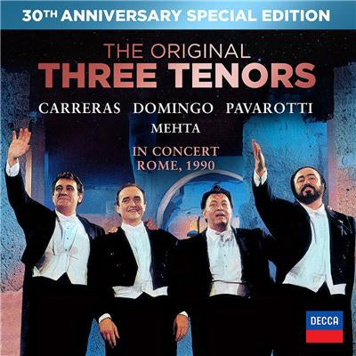 THREE TENORS THE-THE ORIGINAL THREE TENORS IN CONCERT CD+DVD *NEW*
