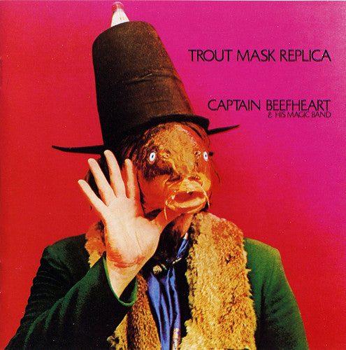CAPTAIN BEEFHEART-TROUT MASK REPLICA 2LP EX COVER VG