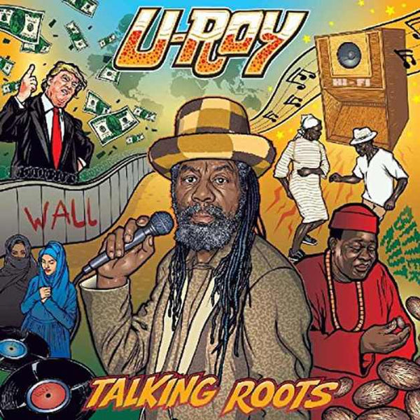U-ROY-TALKING ROOTS LP *NEW*