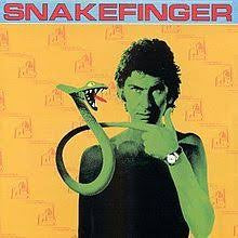 SNAKEFINGER-CHEWING HIDES THE SOUND LP NM COVER VG+