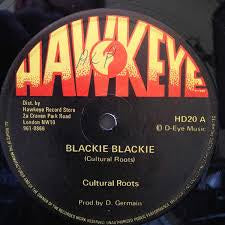 "CULTURAL ROOTS-BLACKIE BLACKIE 12"" VG+ COVER VG"