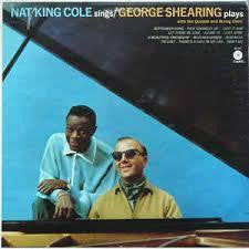 COLE NAT KING & GEORGE SHEARING-SINGS/ PLAYS LP VG COVER VG