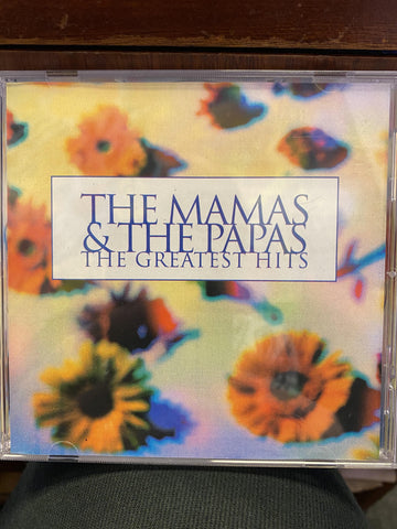 MAMAS & THE PAPAS THE-GREATEST HITS CD VG+