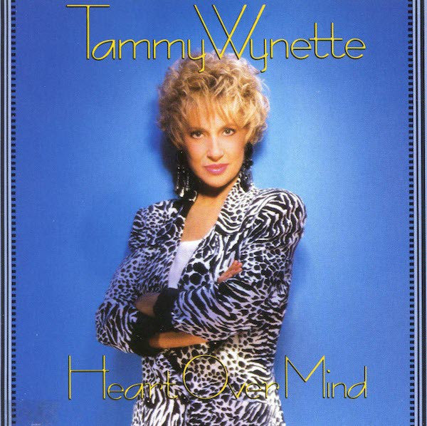 WYNETTE TAMMY-HEART OVER MIND CD VG
