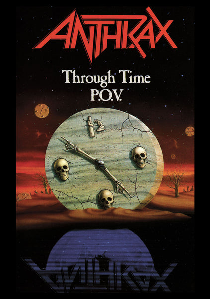 ANTHRAX-THROUGH TIME POV DVD *NEW*