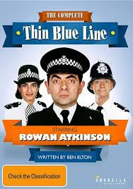 A THIN BLUE LINE-THE COMPLETE SERIES 2DVD VG