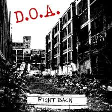 D.O.A.-FIGHT BACK CD *NEW*