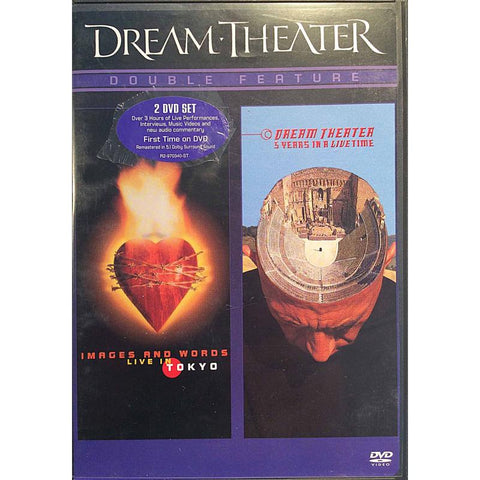 DREAM THEATER-IMAGES & WORDS LIVE IN TOKYO + 5 YEARS IN A LIVETIME 2DVD *NEW*