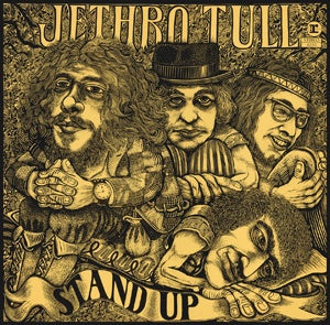 JETHRO TULL-STAND UP LP VG COVER VG+