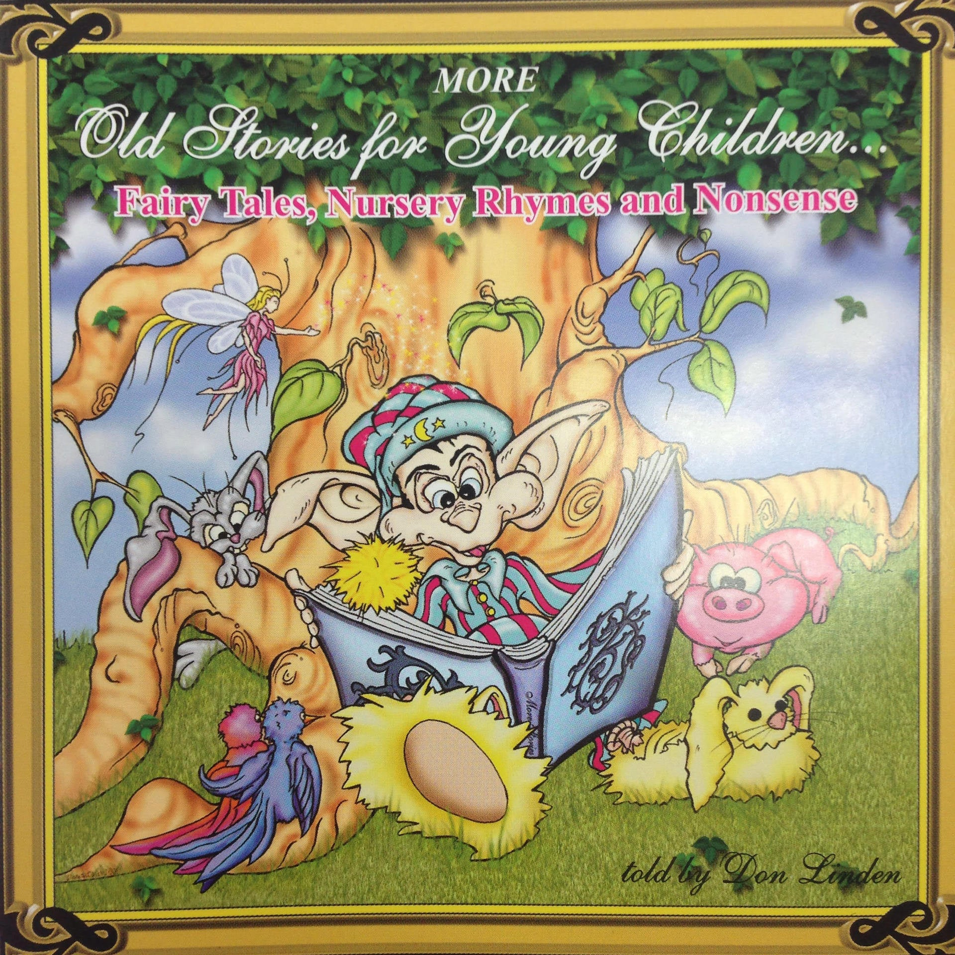 LINDEN DON-MORE OLD STORIES FOR YOUNG CHILDREN CD *NEW*