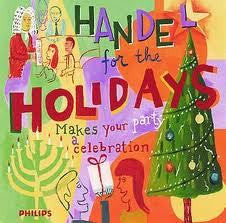 HANDEL-FOR THE HOLIDAYS CD VG