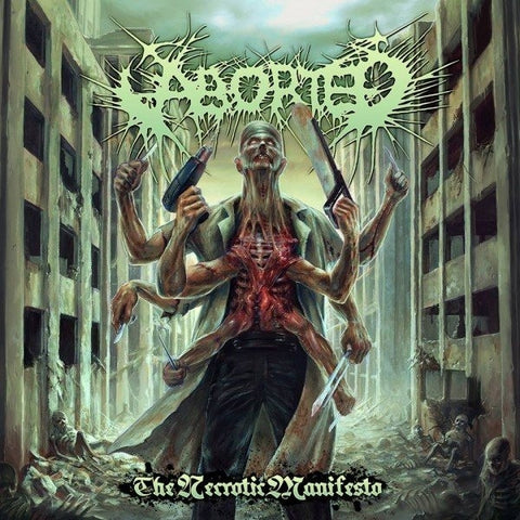 ABORTED-THE NECROTIC MANIFESTO CD VG