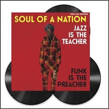 SOUL OF A NATION JAZZ IS THE TEACHER-VARIOUS ARTISTS 3LP *NEW*