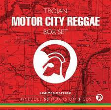 TROJAN MOTOR CITY REGGAE BOX SET-VARIOUS ARTISTS 3CD *NEW*