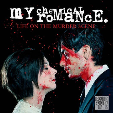MY CHEMICAL ROMANCE-LIFE ON THE MURDER SCENE CLEAR/ RED SPLATTER VINYL LP *NEW*