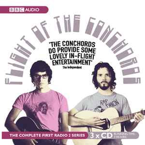 FLIGHT OF THE CONCHORDS-THE COMPLETE RADIO SERIES 3CD VG