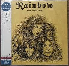 RAINBOW-LONG LIVE ROCK 'N' ROLL JAPANESE CLEAR VINYL LP *NEW*