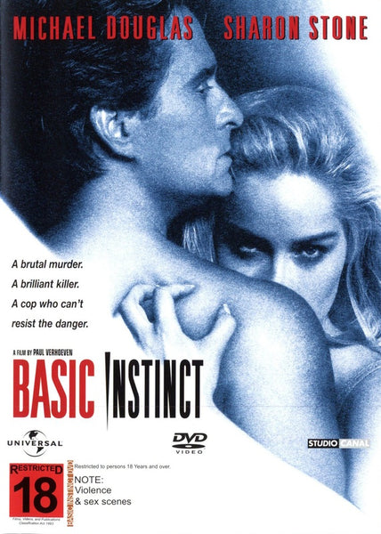 BASIC INSTINCT DVD VG