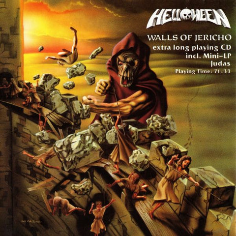 HELLOWEEN-WALLS OF JERICHO CD VG