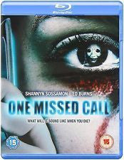 ONE MISSED CALL - BLU RAY VG