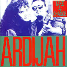 ARDIJAH-TAKE A CHANCE LP NM COVER VG