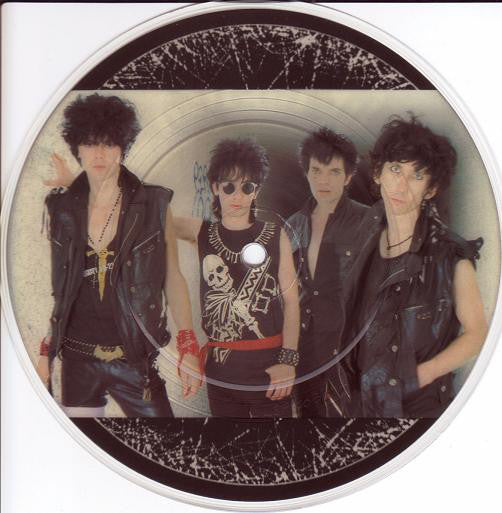 "LORDS OF THE NEW CHURCH THE- RUSSIAN ROULETTE 7"" PICTURE DISC VG+"