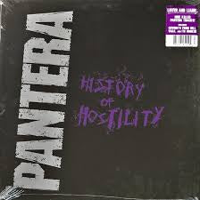 PANTERA-HISTORY OF HOSTILITY LP NM COVER NM