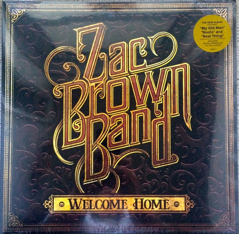 BROWN ZAC BAND-WELCOME HOME LP *NEW*