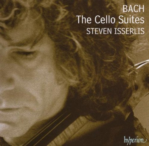 BACH-THE CELLO SUITES STEVEN ISSERLIS 2CD *NEW*