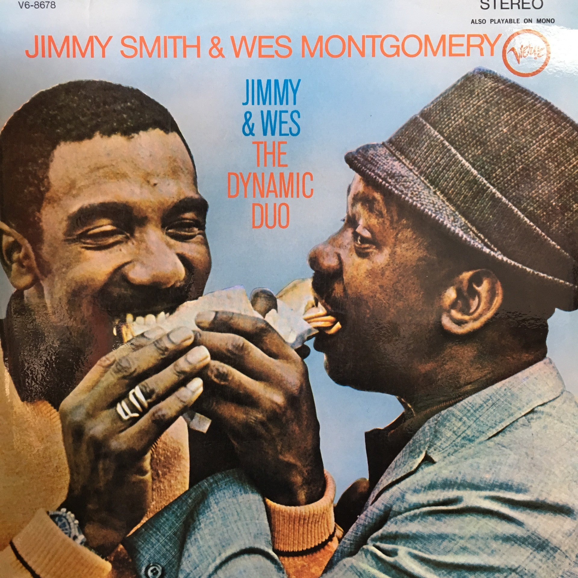 SMITH JIMMY & WES MONTGOMERY-DYNAMIC DUO LP EX COVER VG+