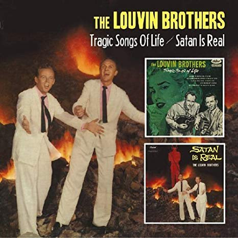 LOUVIN BROTHERS THE-TRAGIC SONGS OF LIFE/SATAN IS REAL CD VG+